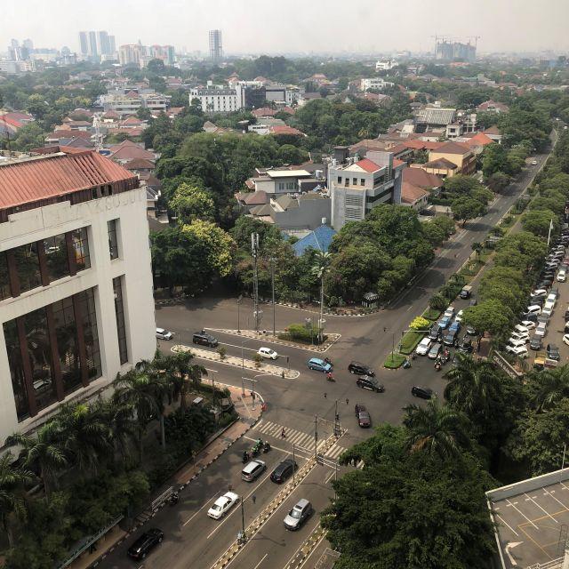 Skyline von Jakarta