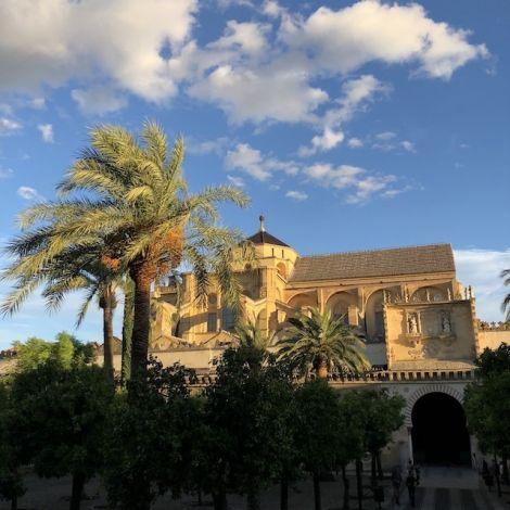Die Mezquita, Moschee und Kathedrale bei bestem Wetter