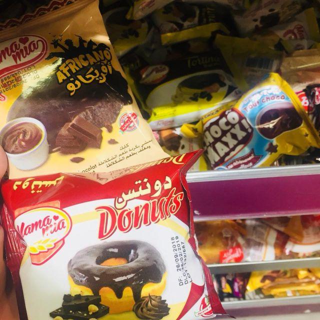 Donuts, Kuchen, Brownies und und und Viele leckere Kalorien abgepackt in viel zu viel Plastik für keine 20 cent.