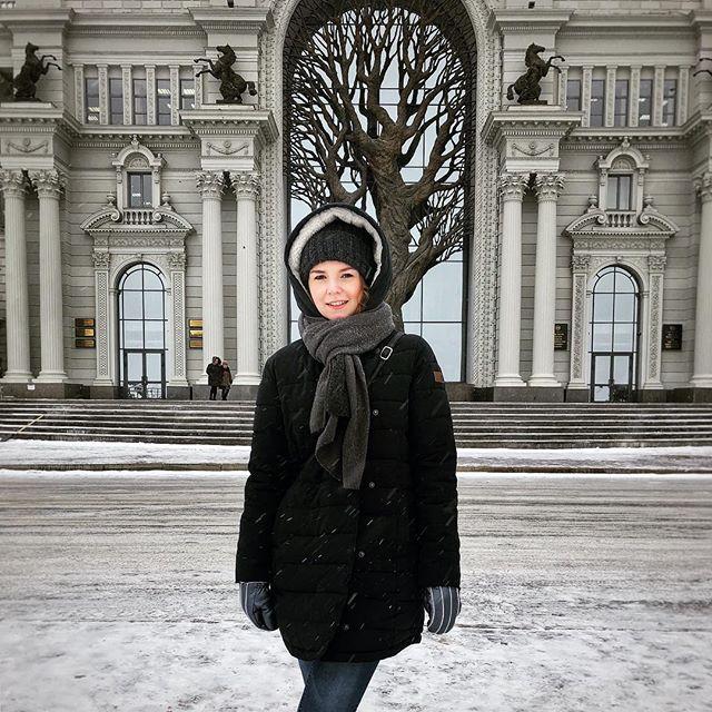Ein richtiger Winter - so mit Schnee und allem Drum und Dran…