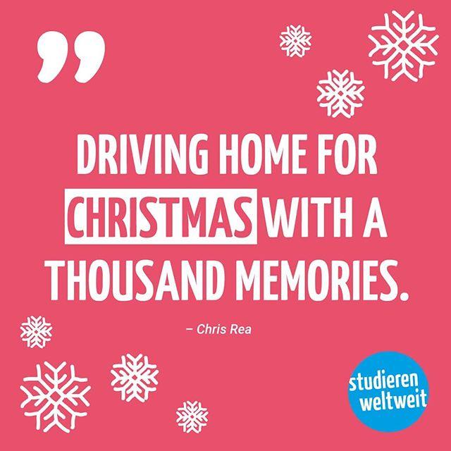 Wie sehen eure Pläne aus? Weihnachten zu Hause oder doch im Ausland?…