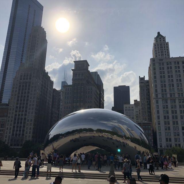 Die silberne Bohne in Chicago.