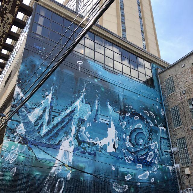 Street Art in den USA.
