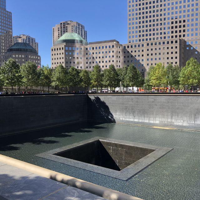 Ground Zero / World Trade Center Gedenkstätte in New York.