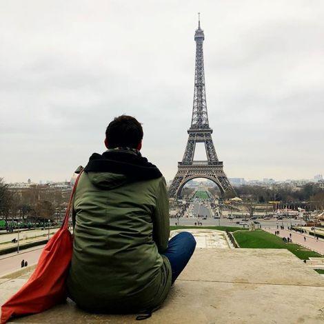 ...womit ich dann wohl so richtig in #paris angekommen sein sollte. Auf das…