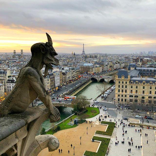 Sicher, auch in #paris gibt's schönere Tage als den #montag (zum Beispiel…