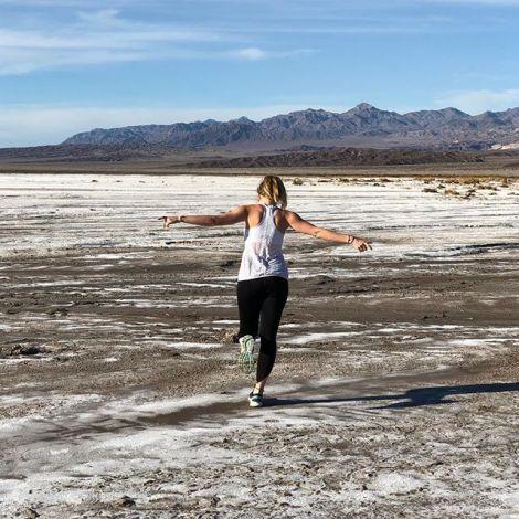 Salzwüste im Death Valley