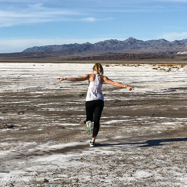 When you survived Death Valley...…
