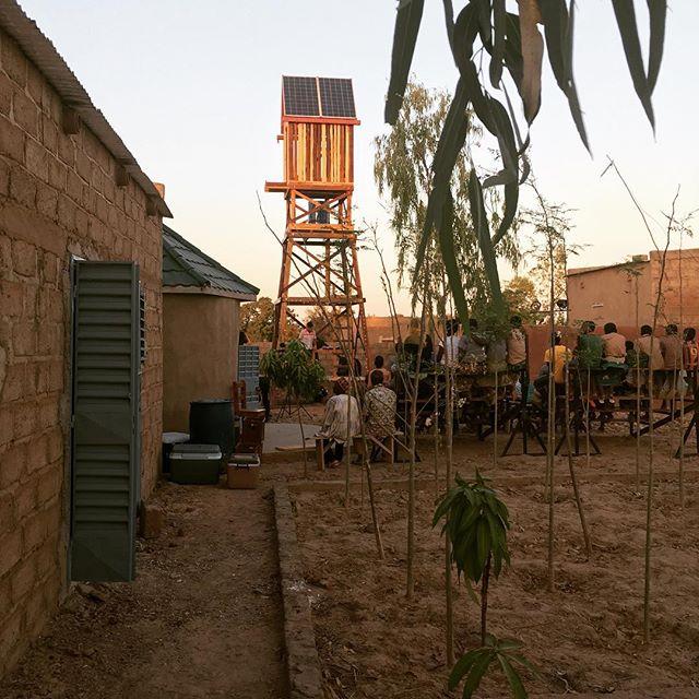 Tolles Projekt in der Nähe von Ouaga. Einweihungsfeier ✨✨#erlebees…