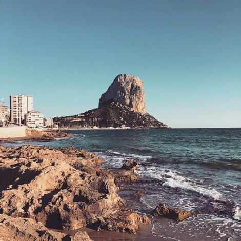 2019: finally been to Spain 🇪🇸 #studierenweltweit #erlebees #calpebeach…