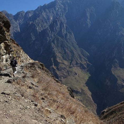 Hiking in south-west #China has been incredible! The tiger leaping gorge near…
