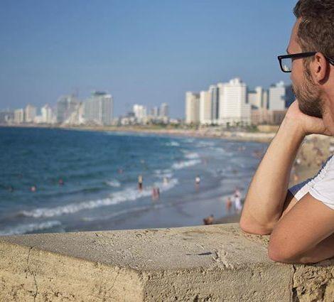 Am Meer in Jaffa