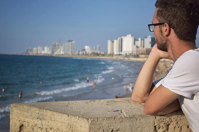 Wehnmütig blicke ich auf den Strand und das Meer. Tel Aviv war definitiv eine überaus wunderbare Erfahrung!