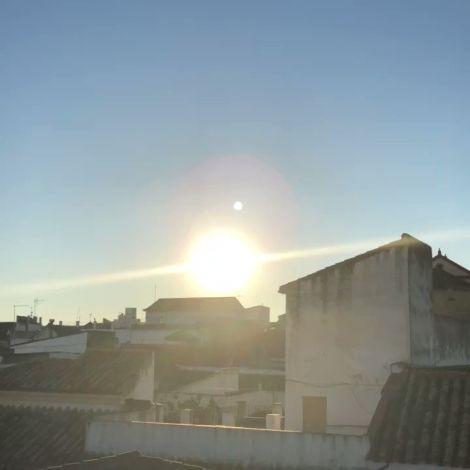 Blick über die Dächer von Cordoba in Spanien.