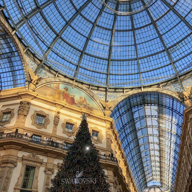 Inneres des Gebäudes der Einkaufsgalerie in Mailand