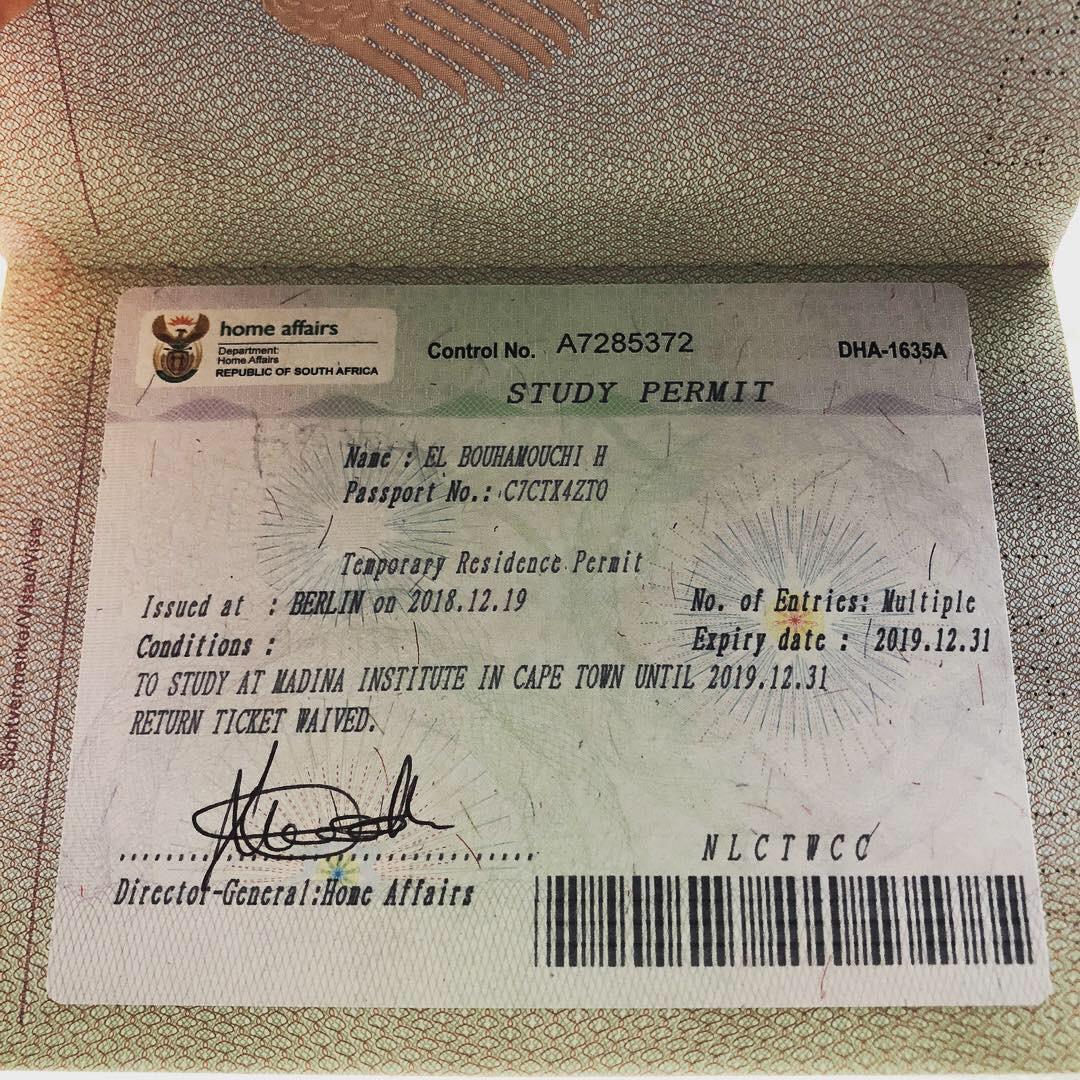 Studieren in Kapstadt? Nicht ohne Visum!