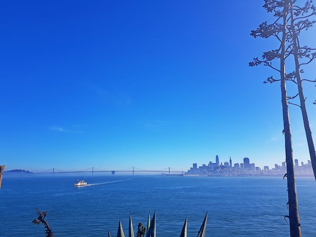 Aussicht auf San Francisco.