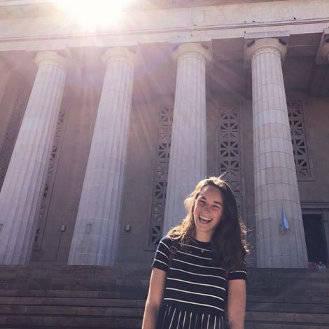 Für einen Sprachtest war ich heute zum ersten Mal in der Universidad de Buenos…