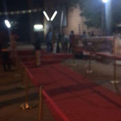 Der rote Teppich #fespaco #ouaga #erlebees #burkina