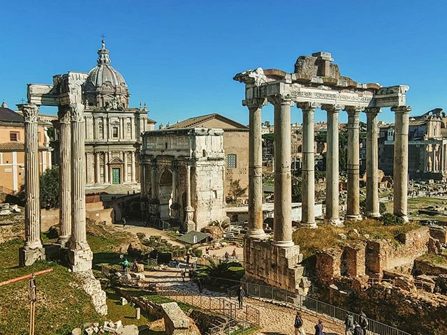 #forumromanum #italia #roma #history #temples #erlebees