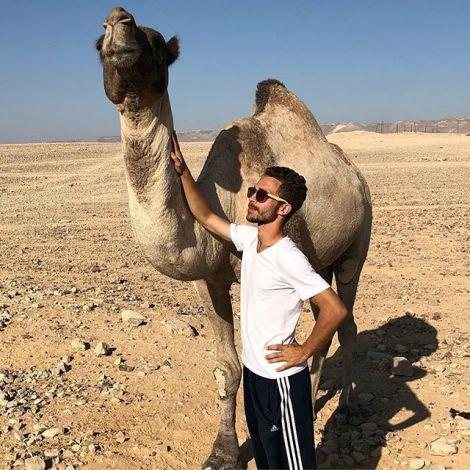 Als wir in der Nähe von Bethlehem in die Wüste Juda gefahren sind und dort…