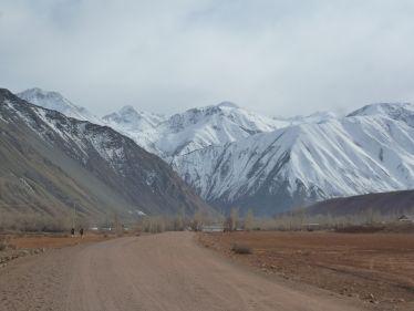 Berglandschaft Kirgistan
