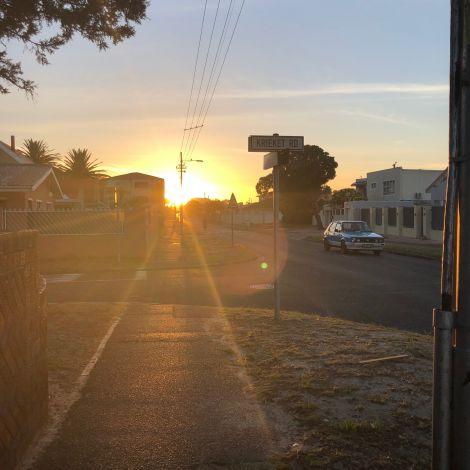 Krieket Road ist unser Zuhause in Kapstadt