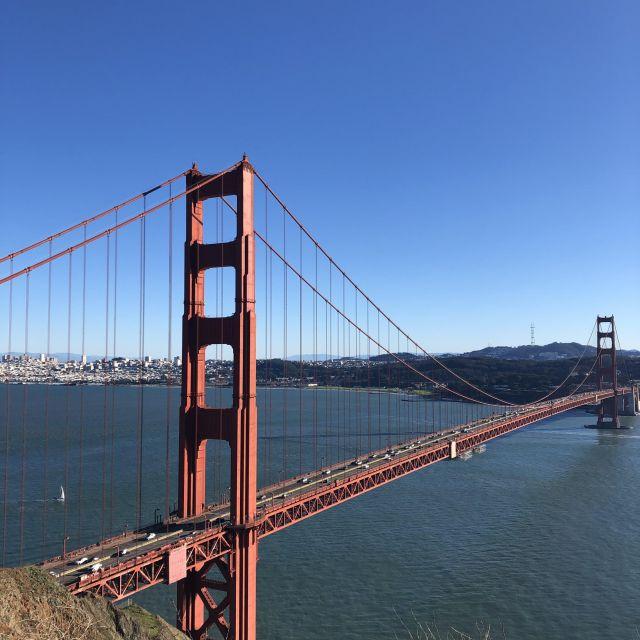 Golden Gate Bridge - das Wahrzeichen der Bay Area