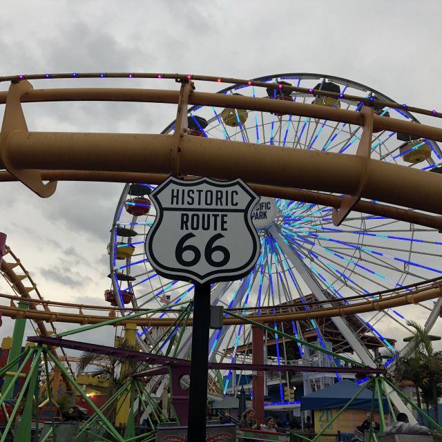 Santa Monica Pier - Ende der Route 66