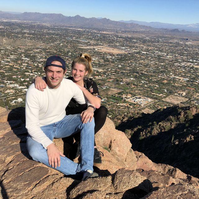 Auf der Spitze des Camelback Mountain