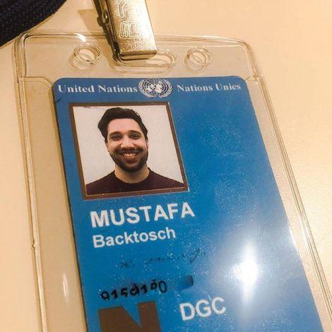 Just got my UN pass! …