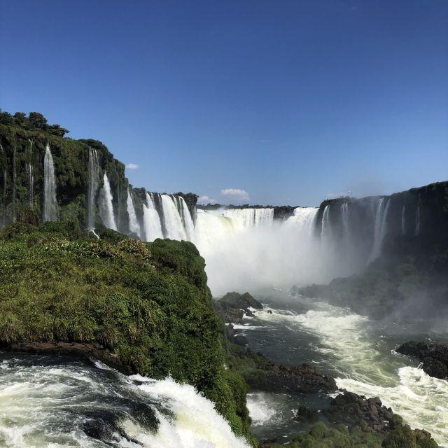 Die Wasserfälle von Iguazú.