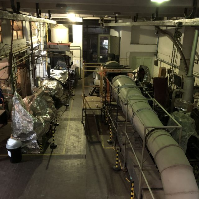 Werkstatt des Maschinenbaustudiengangs in Buenos Aires.