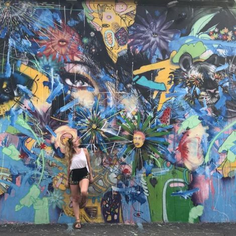 Welcome to Wynwood, my favorite district in Miami🎨…