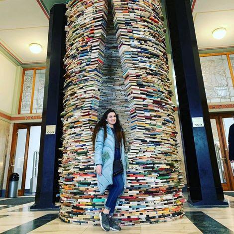 Man kann ja sich inspirieren lassen Bücher zu lesen 🙈 #prag…