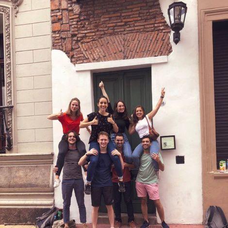 La Casa Mínima in San Telmo ist nur 2,5 m breit und somit das schmalste Haus…