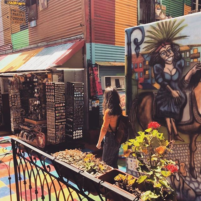 Street Art in Buenos Aires.