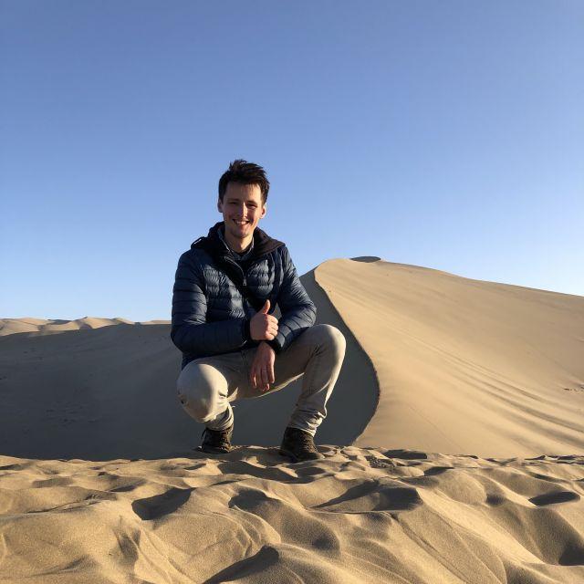 Nicholas in Wüste Gobi