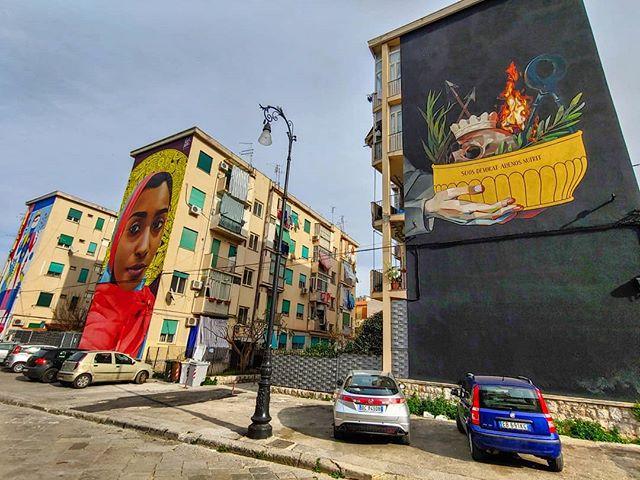 #streetart #palermo #sicily #italia #kalsa #erlebees