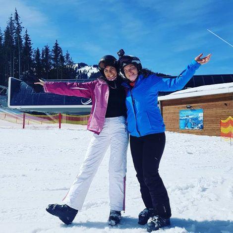 Zu Besuch bei den Nachbarn zum Skifahren 🇦🇹⛷🌞. Mit erstklassiger…