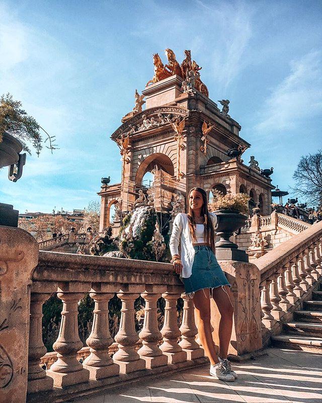 Barcelona hat definitiv schöne Parks! Oder was meint ihr? 😇 Für meinen…