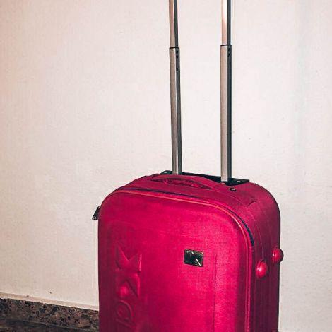 Koffer Rosa Packen Gepäck