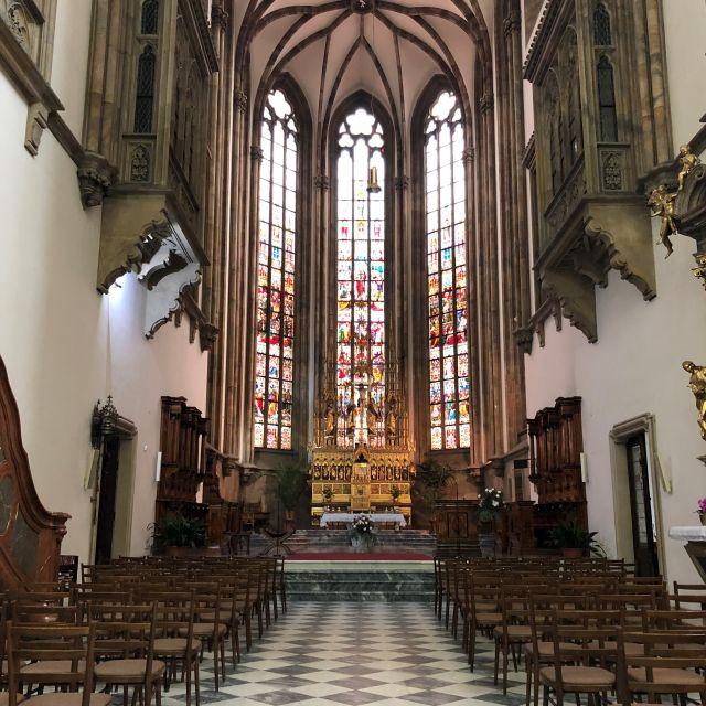 Eine Kirche in Tschechien.