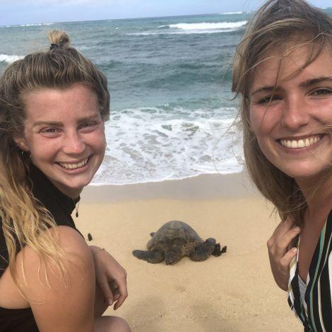Familienfoto auf Maui