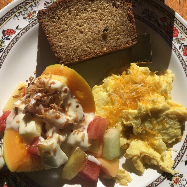 Frühstück Hawaiian Style