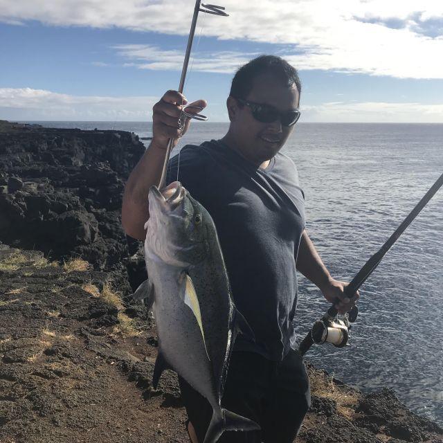 Frisch gefangener Fisch