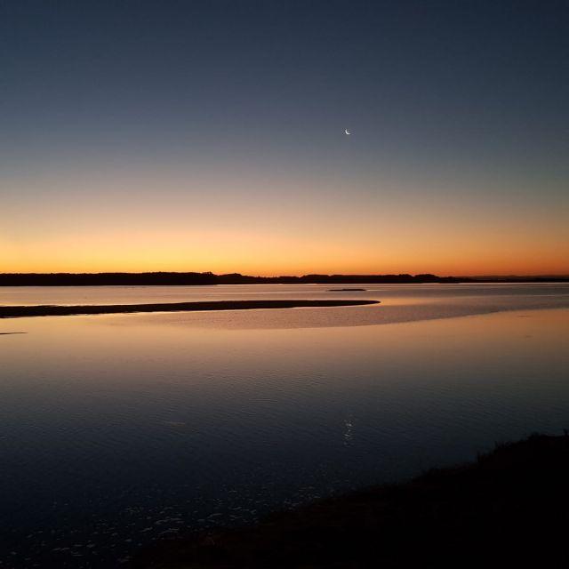 Sonnenuntergang in der Laguna