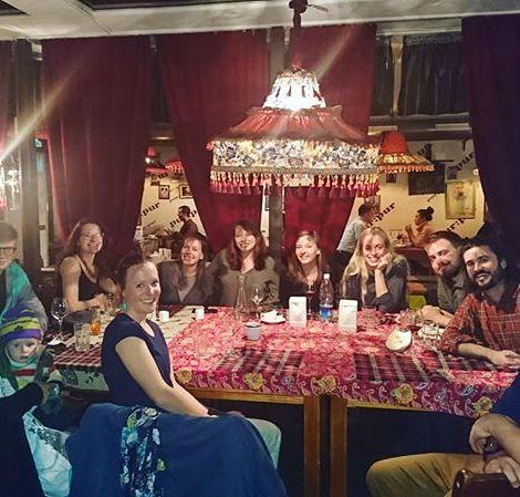 Das war das Abschiedsessen in Bishkek mit meinen liebsten Leuten in meinem…