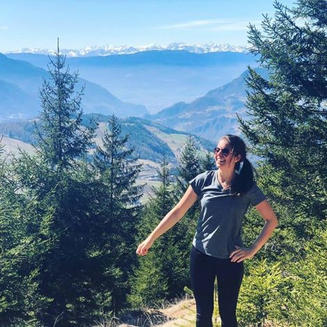 Frische Bergluft schnuppern 🌲🌳🌼 #Südtirol #bozen #italien…