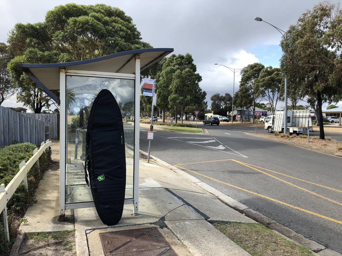 Australien und surfen gehen quasi einher, Melbourne wiederum nicht so sehr…
